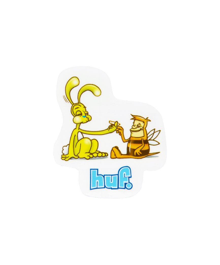 BEST FRIENDS STICKER(WHITE, O/S)