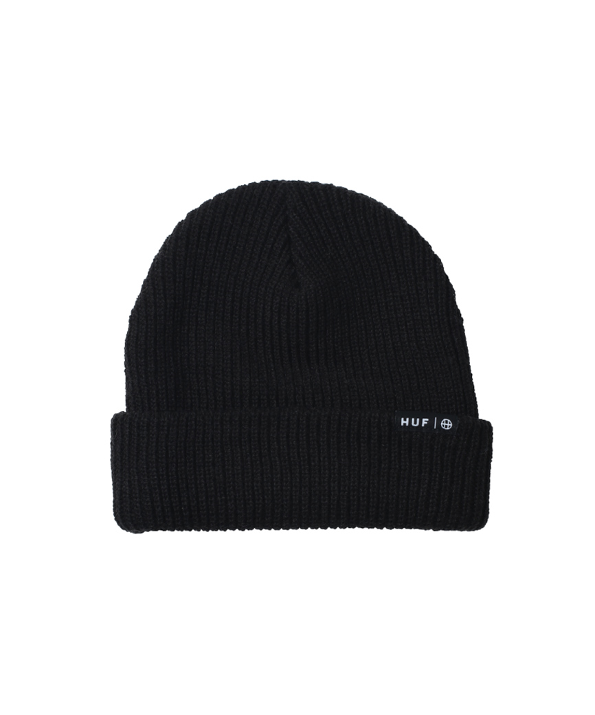 ESSENTIALS USUAL BEANIE(BLACK, O/S)