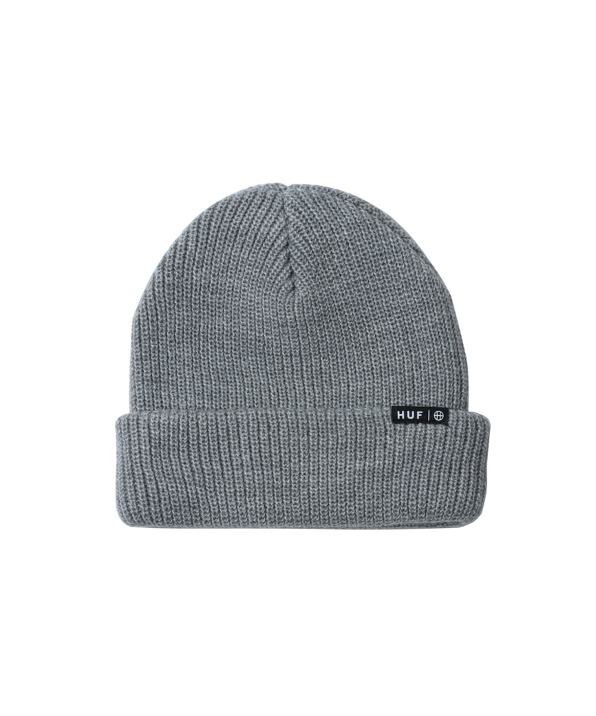 ESSENTIALS USUAL BEANIE(GREY HEATHER, O/S)