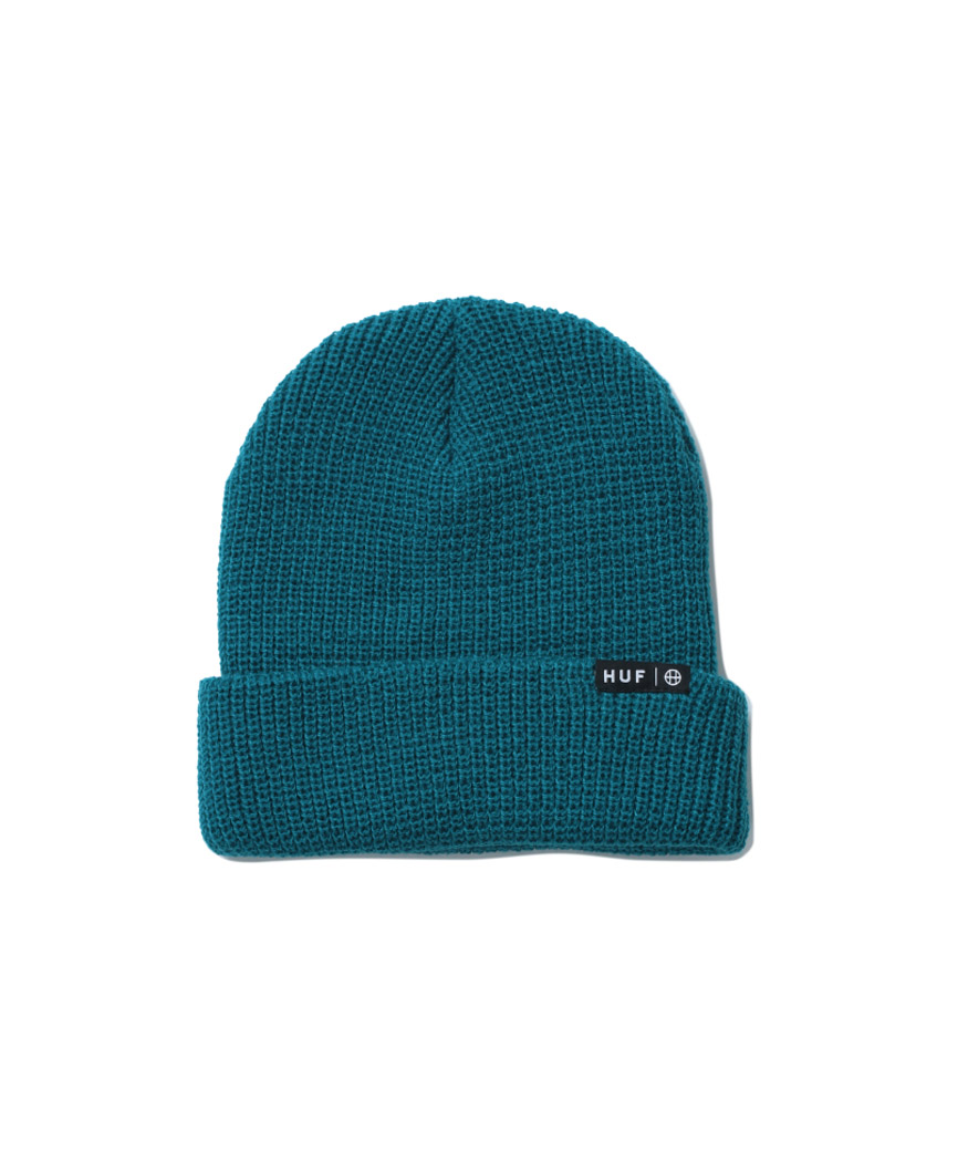 ESSENTIALS USUAL BEANIE(GREEN, O/S)