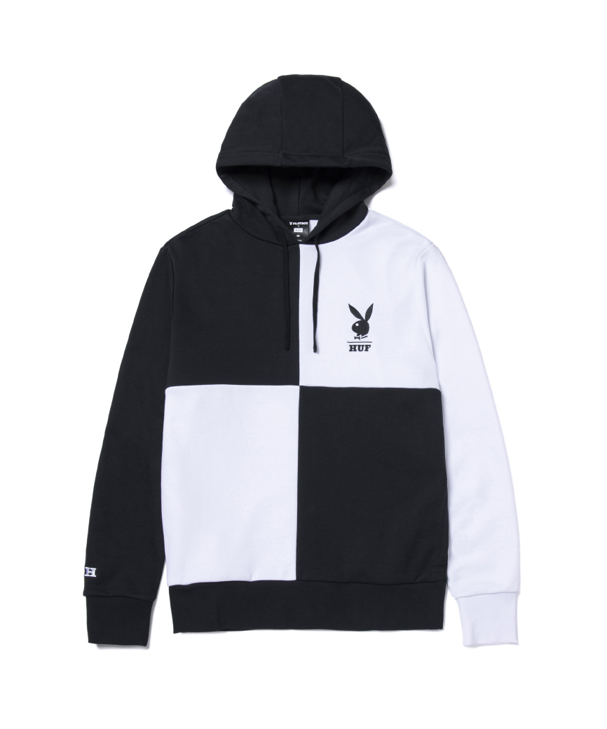 PLAYBOY COLOR BLOCK P/O HOODIE