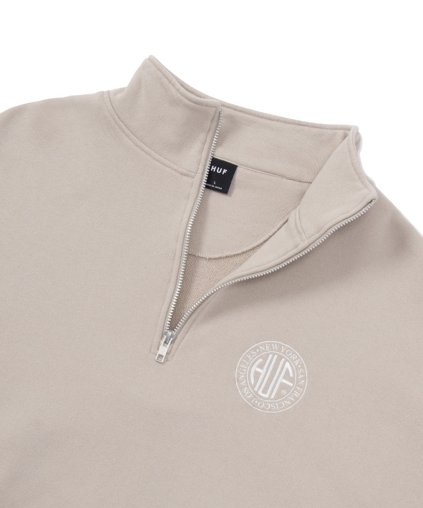 REGIONAL HALF ZIP FLEECE