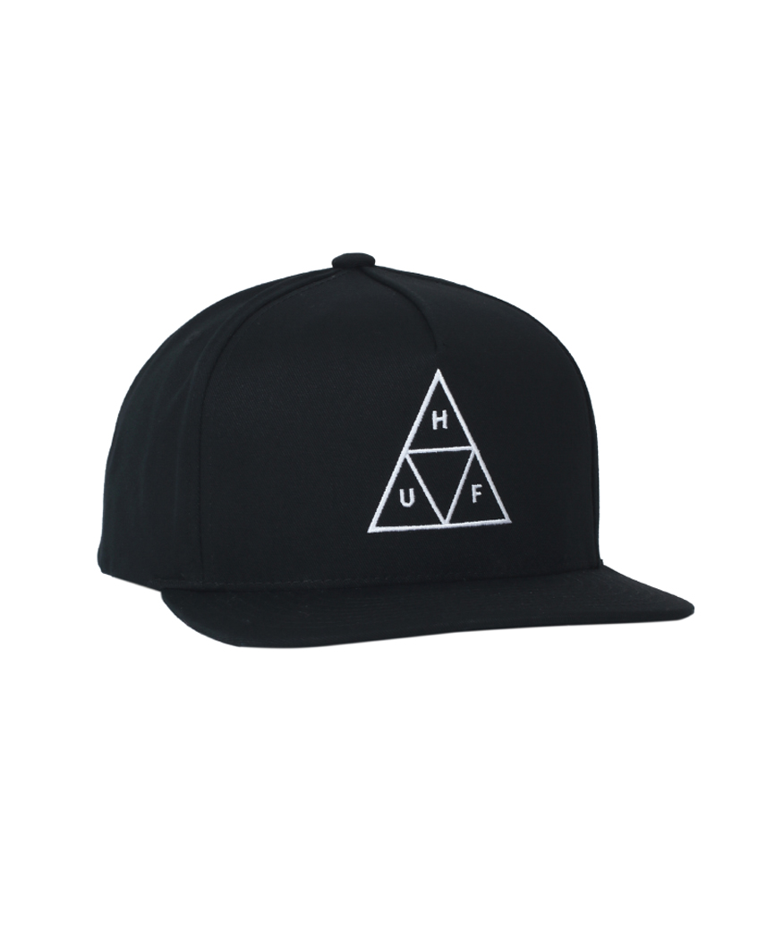 ESSENTIALS TT SNAPBACK(BLACK, O/S)