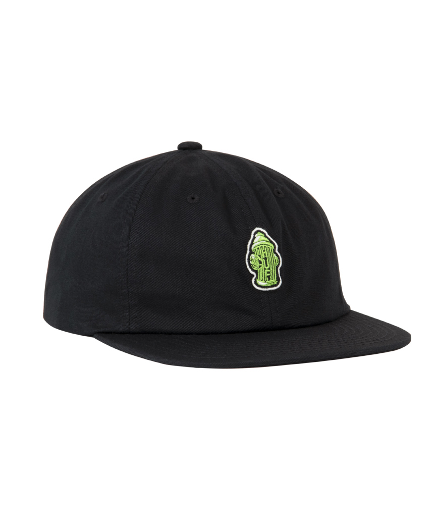 HYDRANT UNSTRUCTED 6 PANEL(BLACK, O/S)