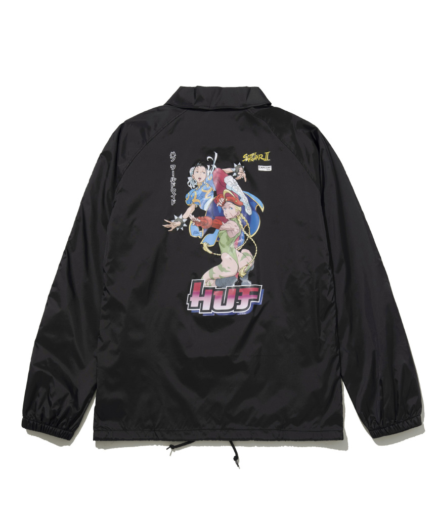 CHUN-LI & CAMMY COACH JACKET