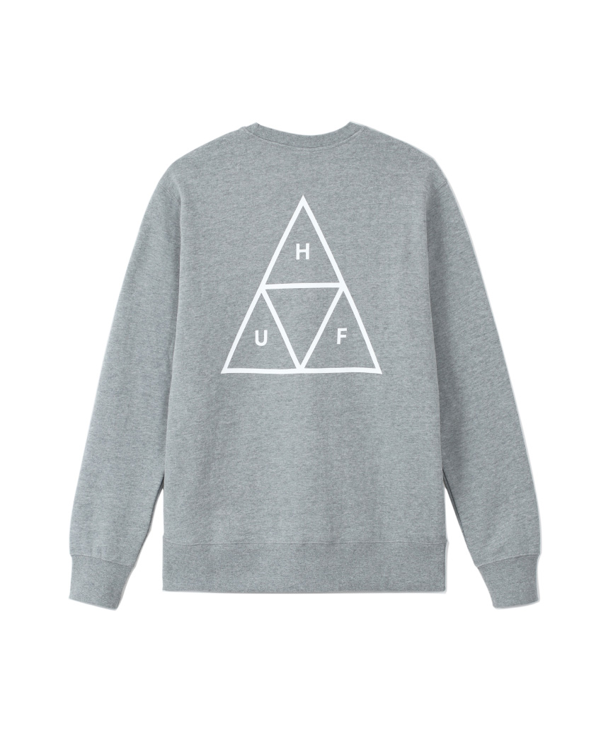 ESSENTIALS TT CREW(GREY HEATHER, XXL)