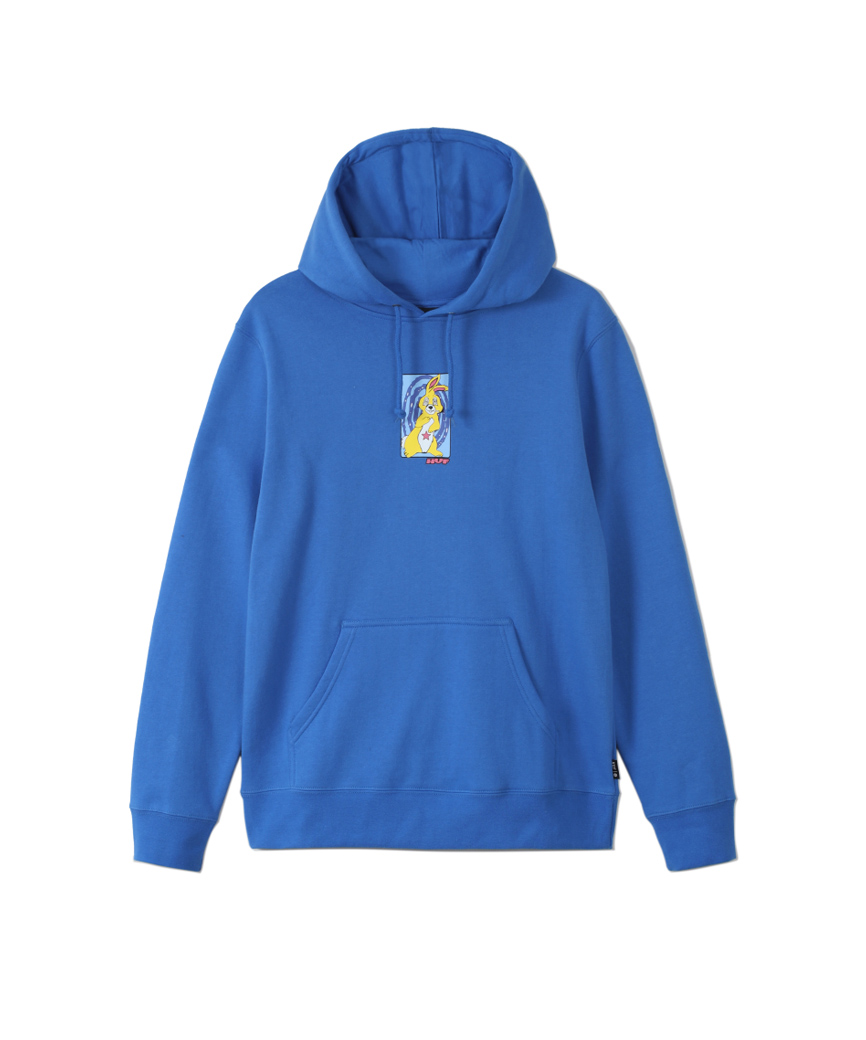 MESSED UP BUNNY P/O HOODIE(DYNAMIC COBALT, S)