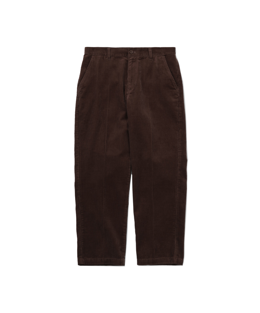 CORD WORK PANT(BROWN, 30)