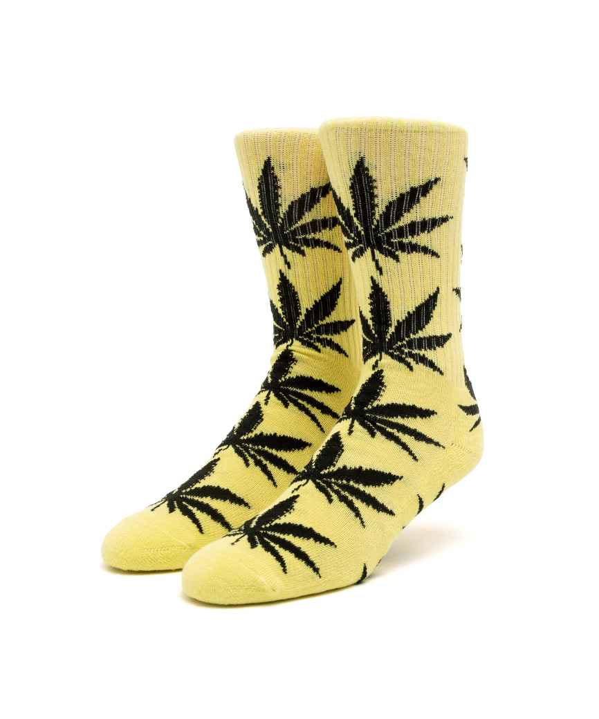 ESSENTIALS PLANTLIFE SOCK(LEMON, O/S)
