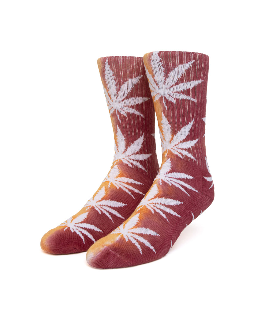 TIEDYE PLANTLIFE SOCK(ORANGE, O/S)