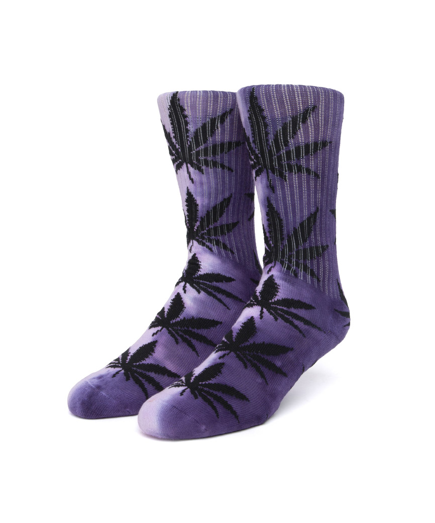 TIEDYE PLANTLIFE SOCK(PURPLE, O/S)