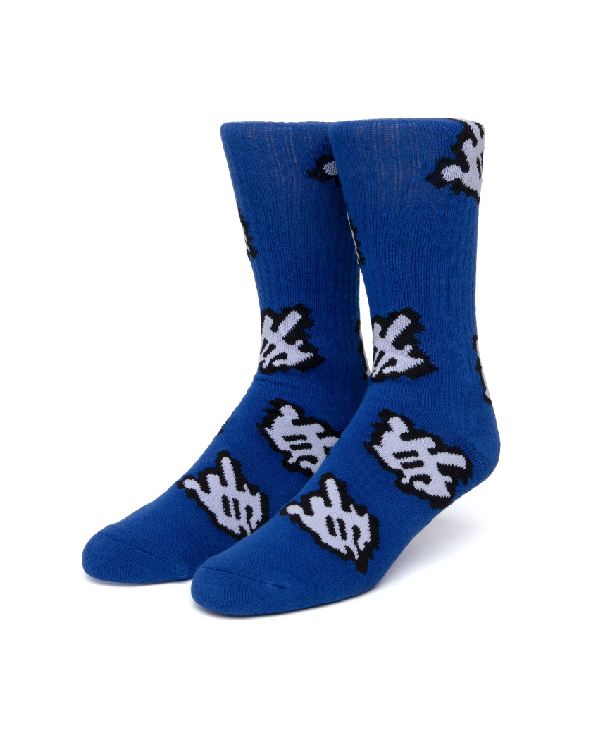 FUCK IT CURSOR SOCK(BLUE, O/S)