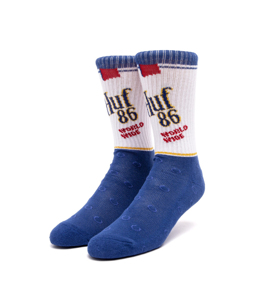 BROWN BAG SOCK(BLUE, O/S)