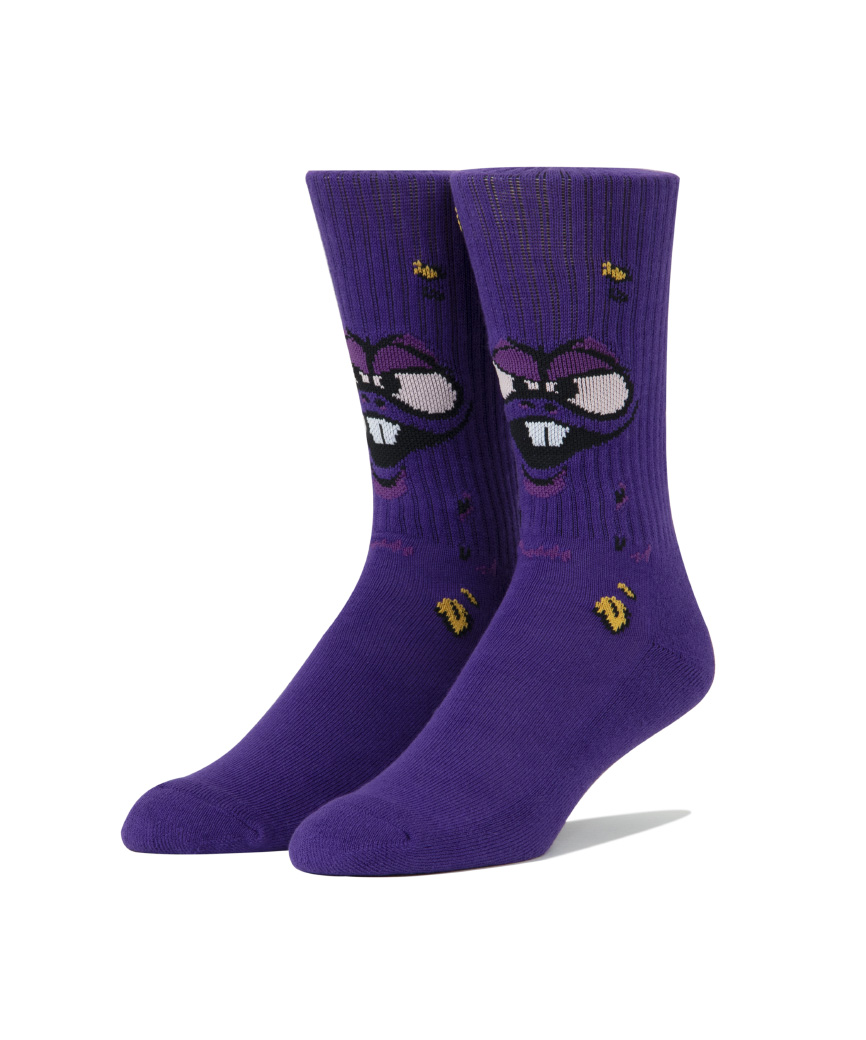 NUG MAN SOCK(PURPLE, O/S)
