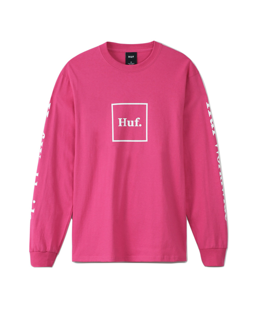 ESSENTIALS DOMESTIC L/S TEE(CORAL, L)