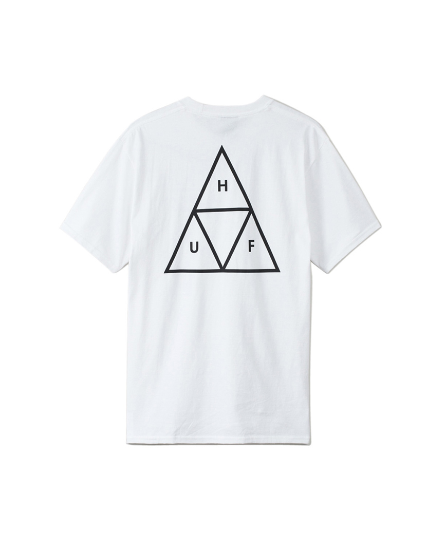 ESSENTIALS TT S/S TEE(WHITE, L)