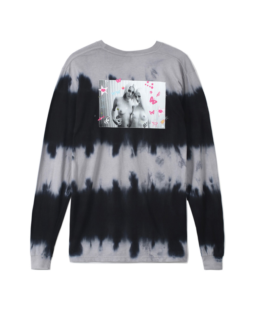 KEI GIRLS WASH L/S TEE