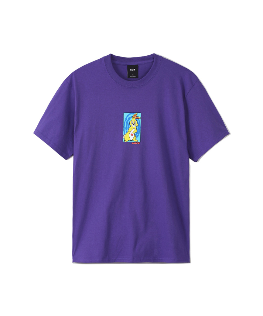 MESSED UP BUNNY S/S TEE(PURPLE, L)