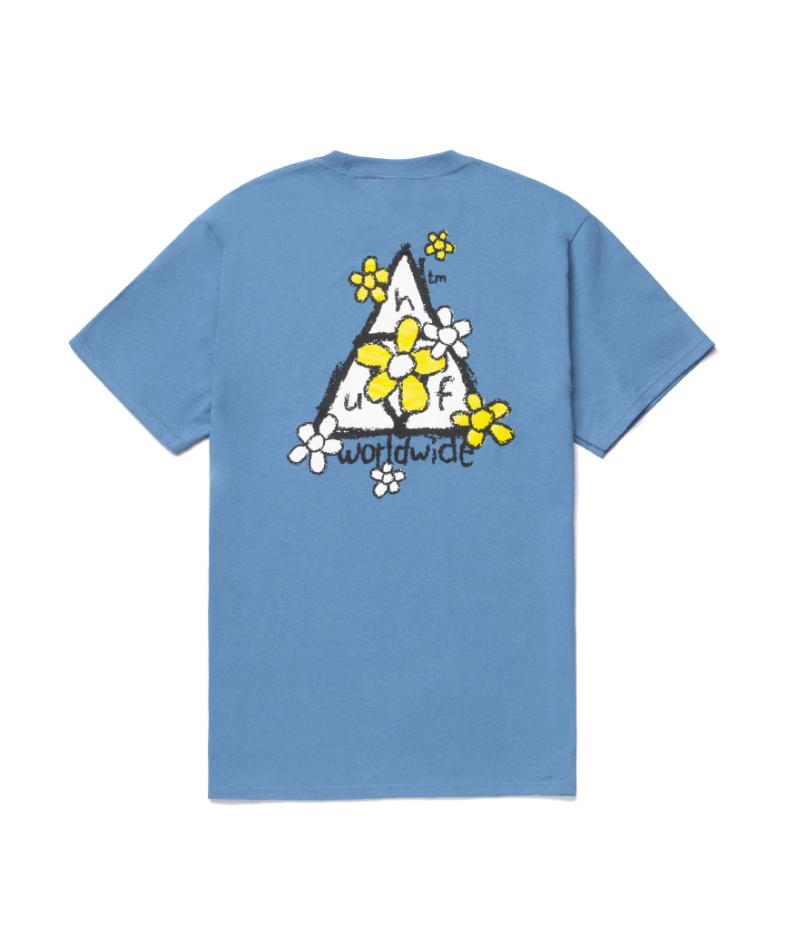 PUSHING DAISIES TT S/S TEE(COLONIAL BLUE, L)