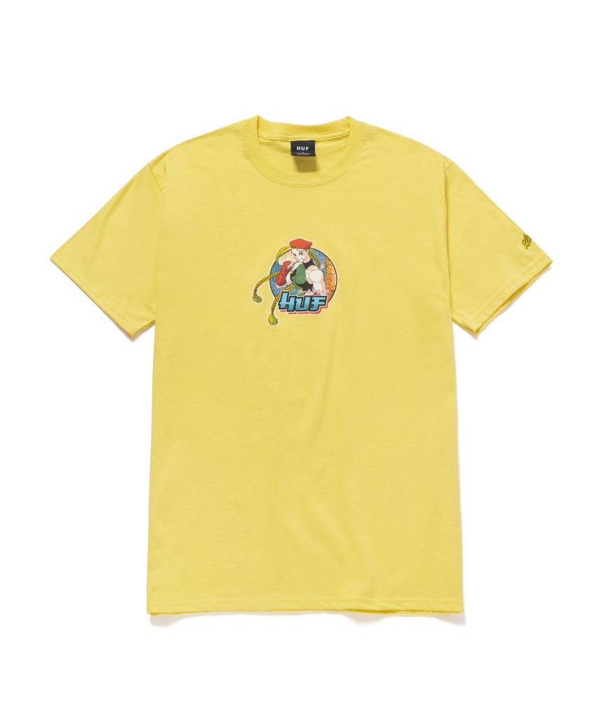 CAMMY S/S TEE(YELLOW, L)