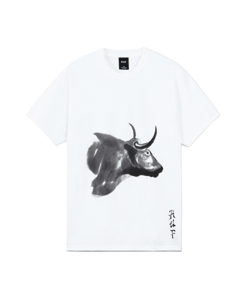 YOTO OX WATERCOLOR S/S TEE