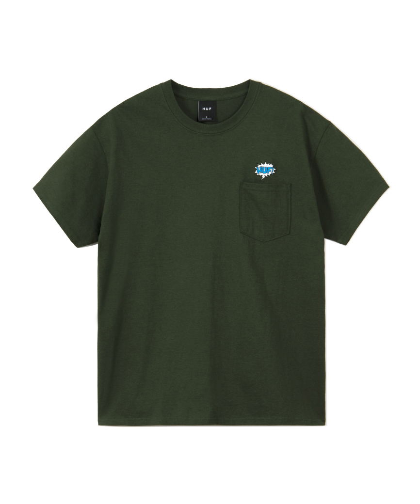 WORD BUBBLE POCKET S/SL TEE