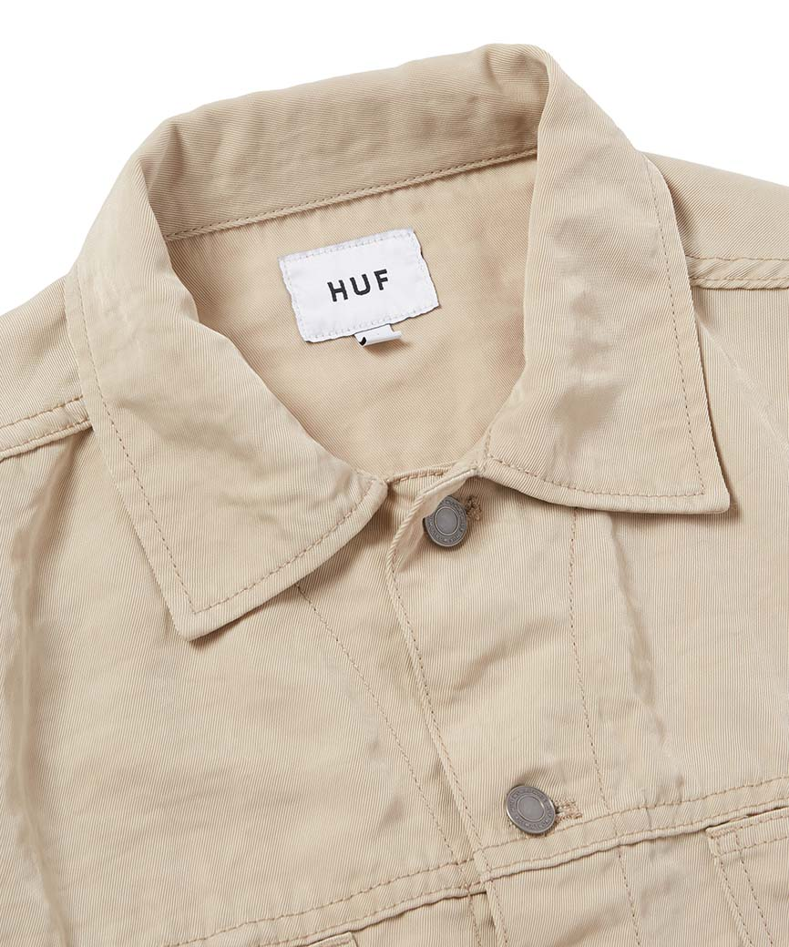 HUF WOMEN'S CROPPED NYLON JACKET