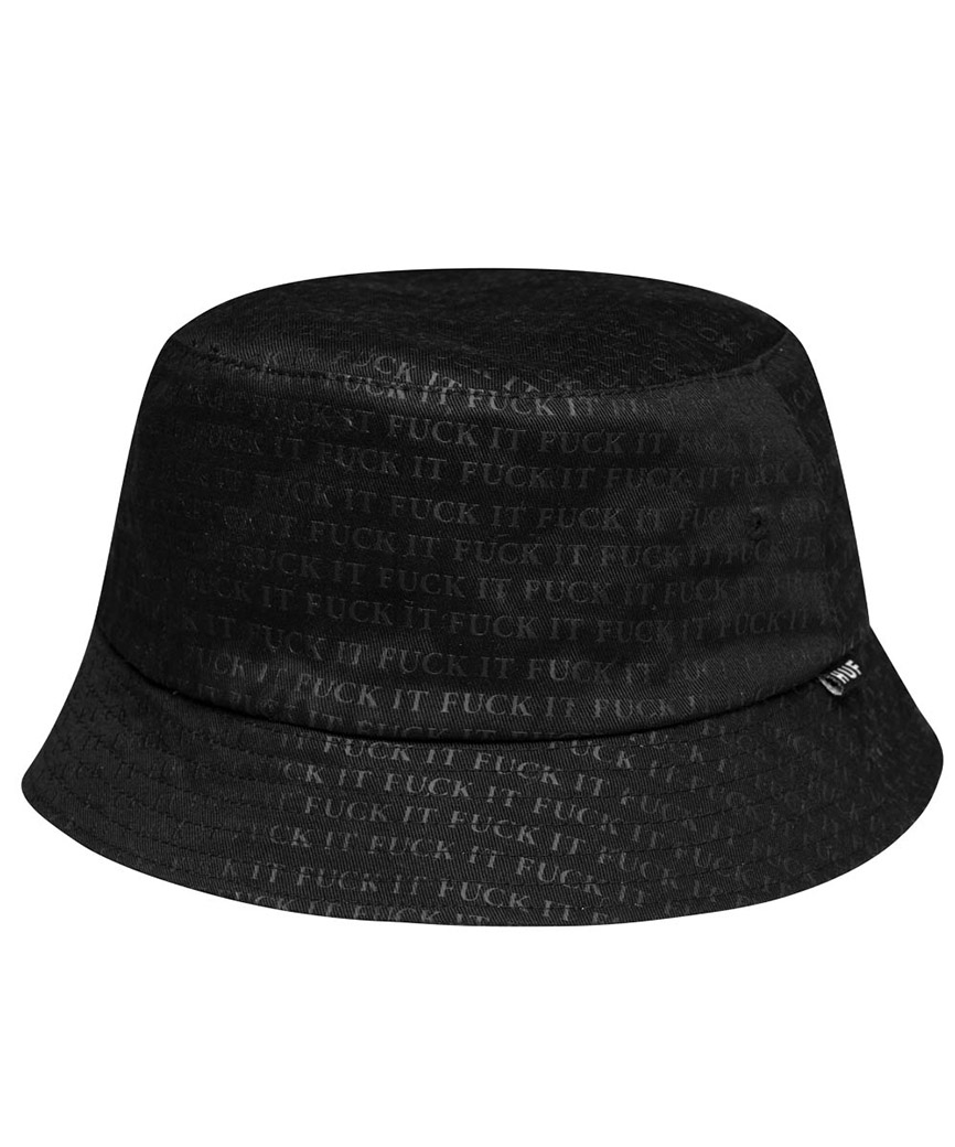 FUCK IT REVERSIBLE BUCKET HAT